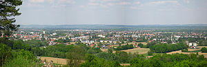Leibnitz - Image: Leibnitzer Panorama
