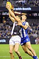 Leigh Montagna and Nathan Hrovat marking contest.jpg