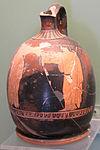 Lekythos attico a figure rosse del pittore di washing, da koufos, T471, 450-425 ac. ca.JPG