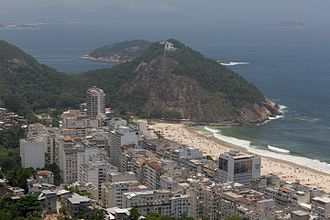 Leme, Rio de Janeiro - Image: Leme by Diego Baravelli