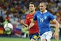 Leonardo Bonucci and Cesc Fàbregas Euro 2012 final.jpg