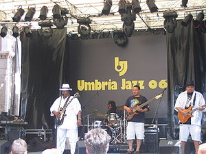 Umbria Jazz Festival - A live concert at Umbria Jazz 2006.