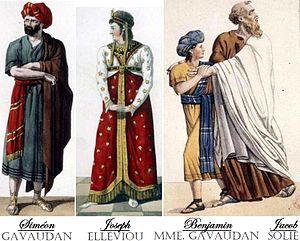 Joseph (opera) - The original cast in costume