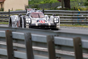 Porsche 919 Hybrid - The 919 of Earl Bamber, Nick Tandy, and Nico Hülkenberg that won the 2015 24 Hours of Le Mans
