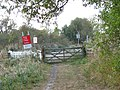 Level crossing in the Limpenhoe Marshes - geograph.org.uk - 1520816.jpg