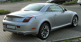 Lexus SC 430 II Facelift rear 20100524.jpg