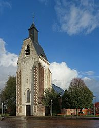 The church in Lezennes