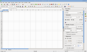 Comparison of spreadsheet software - LibreOffice Calc 5.1
