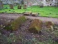 Lichen covered tombs in St Michaels Churchyard - geograph.org.uk - 329434.jpg