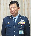 Lieutenant General (ROCAF) Ting Chung-wu 空軍中將丁忠武 (臺灣國防部長嚴明在立法院接受質詢 01).jpg