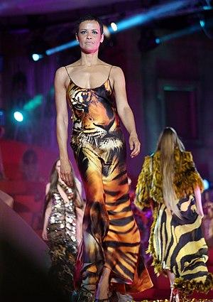 Nadège du Bospertus - Nadège du Bospertus (Cavalli fashion show at Life Ball 2013)
