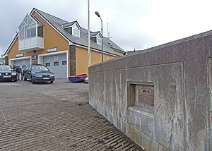 Valentia Lifeboat Station - Image: Lifeboat station and launch ramp geograph.org.uk 1361616