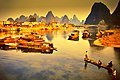 Lijiang River, Guilin, 1988.jpg