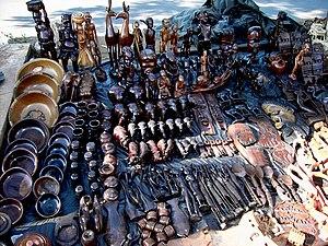 Lilongwe: Lilongwe (Malawi) - crafts market