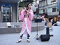 Lily Cao as Nezuko Kamado playing Gurenge 20201101d.jpg