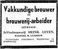 Limburger Koerier vol 096 no 105 advertisement Arbeidsbeurs Roermond.jpg