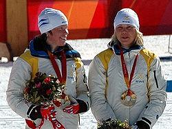 Lina Andersson och Anna Olsson 2006