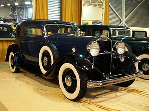 Lincoln K-series - 1932 Lincoln KA Victoria coupe