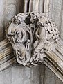 Lincoln Cathedral roof boss (32772691901).jpg