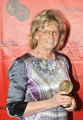 Linda Schuyler - Schuyler at the 70th Peabody Awards