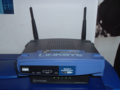 Linksys BEFW11S4 on Comcast cable modem 20060327.png