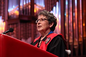 Lise Bissonnette - Honorary doctorat recipient at University of Ottawa
