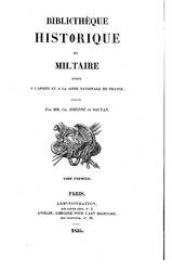 Bibliothèque historique et militaire