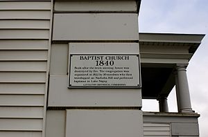 Littleton, Massachusetts - History of the First Baptist Church