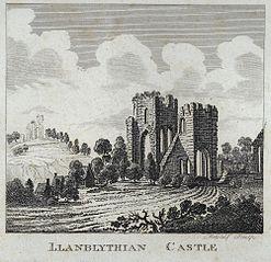 Llanblythian Castle