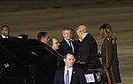Llegada de Donald Trump, presidente de los Estados Unidos de América (44293516510).jpg