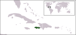 Watts' West Indies and Virginia expedition - Location of Tiburon Peninsula, Hispaniola (present day Haiti)