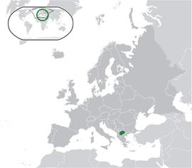 Localização da A.R.J.Macedónia