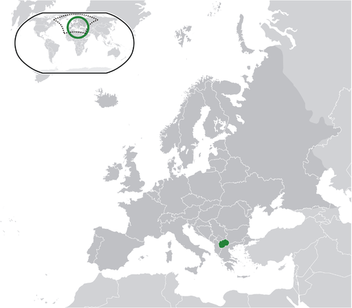 Location Macedonia Europe