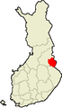 Location of Kuhmo in Finland.png