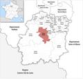 Locator map of Kanton Arpajon 2019.png