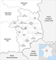 Locator map of Kanton Bourges-3.png