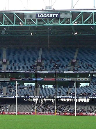 Tony Lockett - The Lockett End at Docklands Stadium