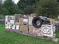 Lockside Sculpture, Caldon Canal, Stockton Brook, Staffordshire - geograph.org.uk - 600384.jpg