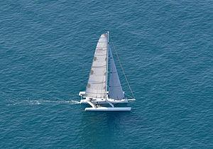 Trimaran - LoeReal 60-foot (18-metre) Waterworld trimaran
