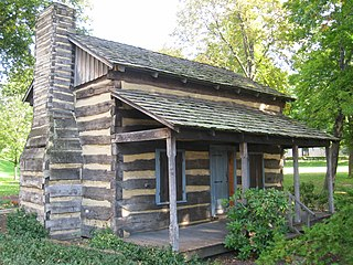 Log Cabin (University of Pittsburgh) reconstructed historic building at the Unversity of Pittsburgh