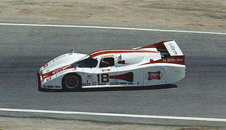 Lola Cars - A Lola T600 IMSA Grand Touring Prototype from 1982.