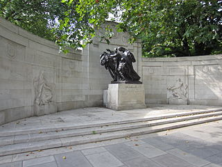 Anglo-Belgian Memorial, London monument in London, given by Belgium in gratitude for Britains sheltering of Belgian refugees in World War I