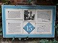 London Roman Wall - Museum of London Walking Tour Plaque 15.jpg