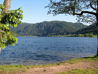 Vologne - The Lac de Longemer is traversed by the Vologne.
