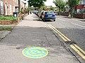 Longitude Zero in Walthamstow - geograph.org.uk - 90634.jpg
