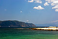 Looking towards Mount Athos from Ammouliani.jpg