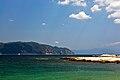 Looking towards Mount Athos from Ammouliani.jpg