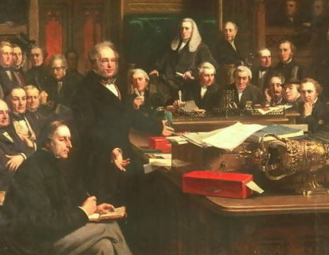 Lord-Palmerston-Addressing-The-House-Of-Commons-During-The-Debates-On-The-Treaty-Of-France-In-February-1860,-1863
