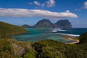 Lord Howe Island from North