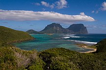 Lord Howe Island-Geography-Lord Howe Island from North